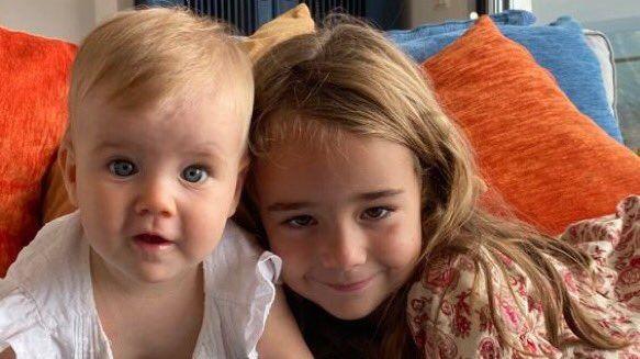 Anna y Olivia, en la imagen