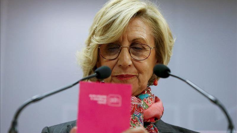 Rosa Díez, sobre la protesta en Colón: 'Salir a la calle es la única forma de frenar a Sánchez'