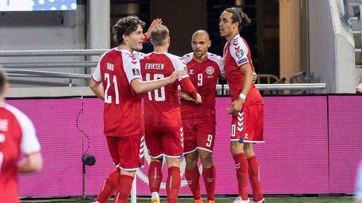 El futbolista danés Christian Eriksen,