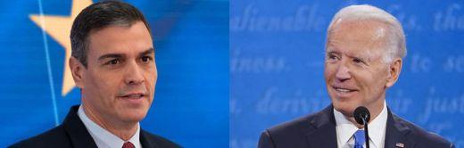 Llega hoy la tan esperada primera reunión Sánchez-Biden: España se juega mucho