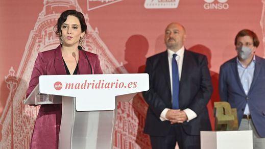 Premios Madrid: Ayuso, Fernando Simón y Camela protagonizan la gala del regreso