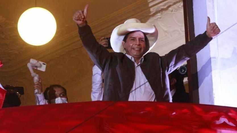 Perú: Pedro Castillo será proclamado presidente tras contabilizarse el 100% de las actas