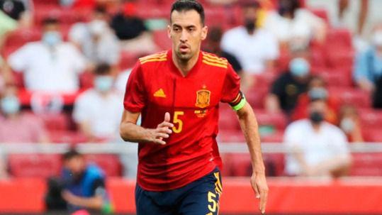 Sergio Busquets da negativo y podría estar para el partido ante Polonia