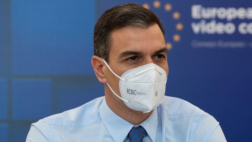 Sánchez pone fecha al fin de la mascarilla en la calle: el próximo 26 de junio