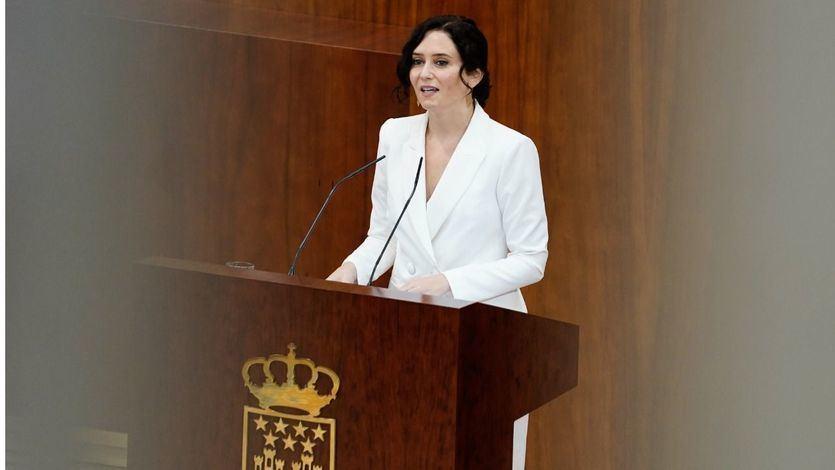 Ayuso jura por segunda vez como presidenta de la Comunidad de Madrid