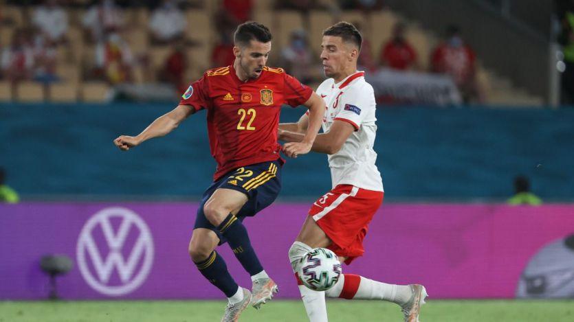 España firma ante Polonia el segundo empate en la Eurocopa