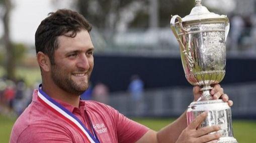 Jon Rahm se convierte en el primer español ganador de un US Open