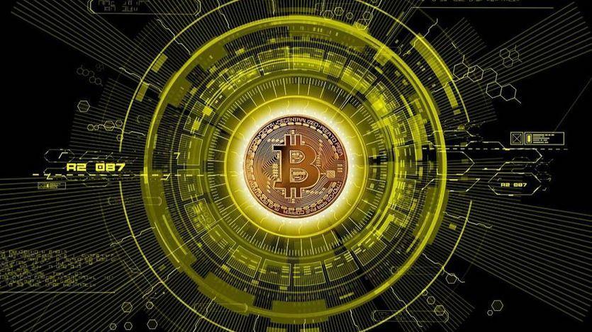 Ilustración del Bitcoin