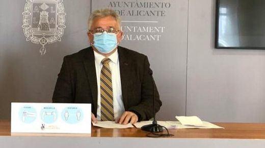 Concejal de cultura Antonio Manresa