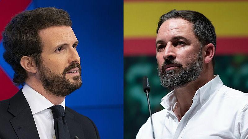 PP, Vox y Cs estallan tras los indultos: Casado augura un segundo procés y Abascal amenaza con otra moción de censura