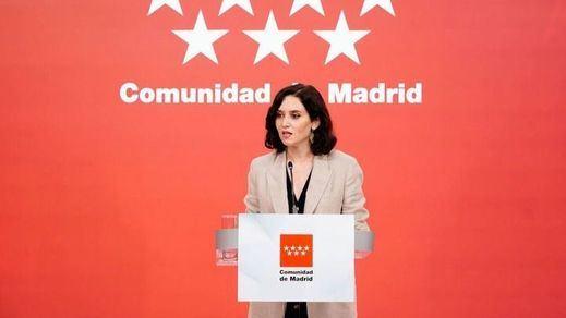 Ayuso vuelve a cargar contra los indultos: 'Los españoles no permitirán jamás que se les ampute una parte de su país'