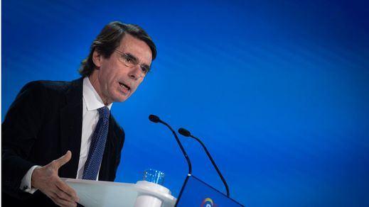 Aznar desata las críticas con sus palabras sobre el 11-M y la llegada del PSOE al Gobierno