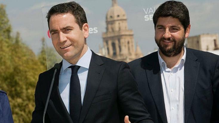 Unidas Podemos denuncia al presidente de Murcia por presunto delito de cohecho