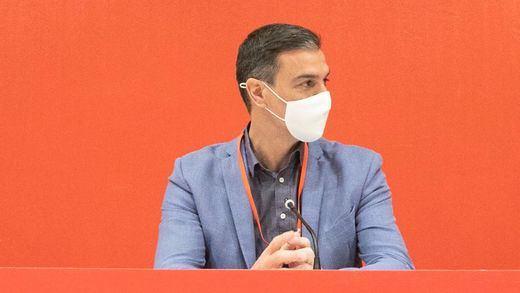 Sánchez, eufórico en el Comité Federal del PSOE: