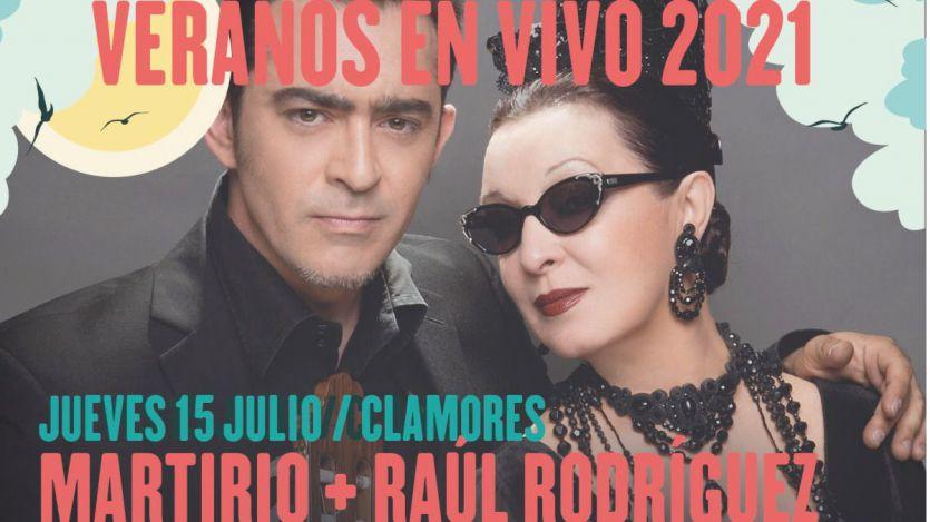 Mejor, imposible: la mítica sala Clamores nos trae a dos de los más grandes de nuestra música: Martirio y Raúl Rodríguez (videoclip)