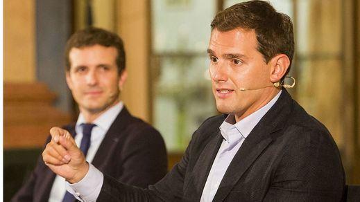 El 'fichaje' de Albert Rivera como asesor de Pablo Casado, lo más comentado en redes