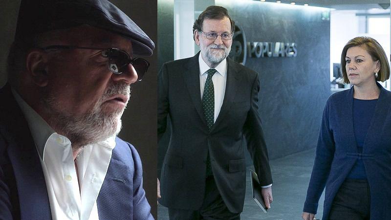 Villarejo incrimina sin tapujos a Rajoy y asegura que la Kitchen es 'imposible' sin su autorización