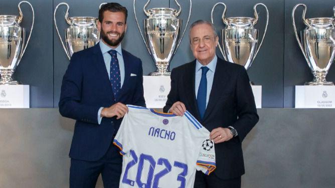 Nacho renueva con el Madrid y se convierte en el ejemplo anti-Ramos que elogia la afición