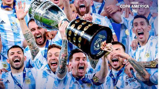 Argentina se impone ante Brasil en la Copa América