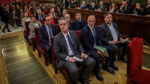 El Supremo desoye la petición de Vox y Ciudadanos de suspender cautelarmente los indultos a los presos del procés