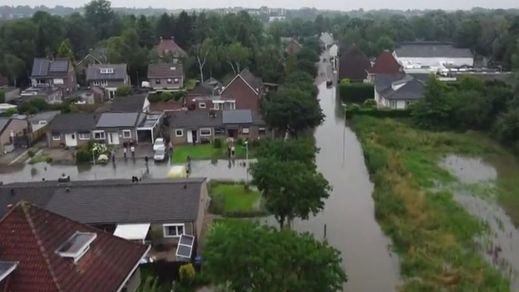 Las fuertes lluvias en Alemania y Bélgica dejan ya más de un centenar de fallecidos
