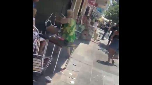 Atropello múltiple en una transitada calle de Marbella