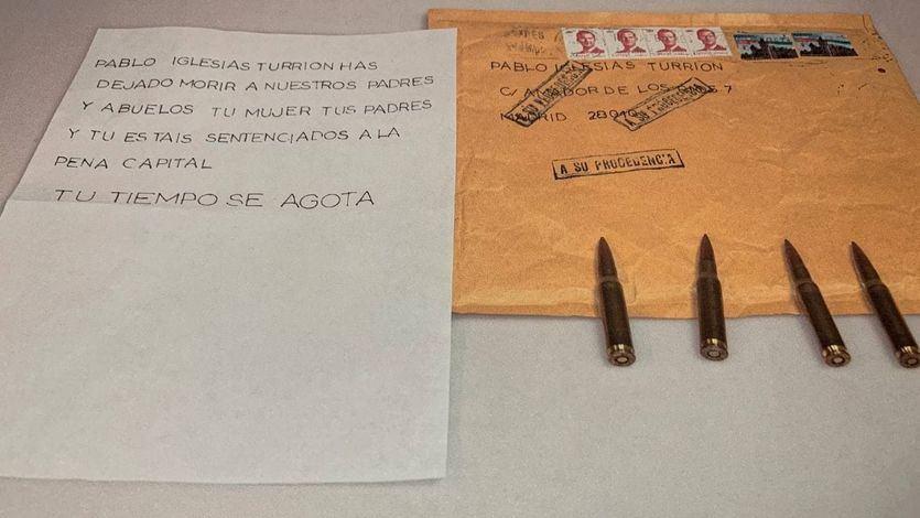 El caso de las cartas con amenazas a Iglesias y Marlaska queda archivado por falta de pruebas