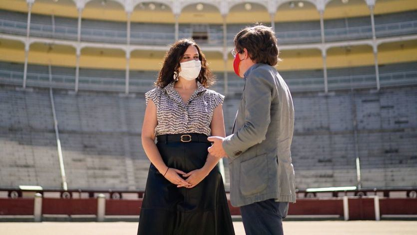 El Gobierno madrileño muestra su apoyo a la tauromaquia y a los profesionales del sector