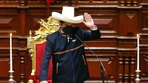 El controvertido discurso de investidura de Pedro Castillo como nuevo presidente de Perú