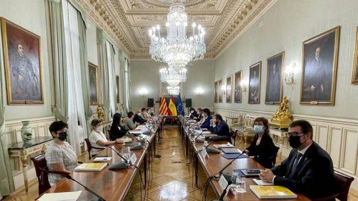 Reunión de la comisión bilateral Estado-Generalitat catalana