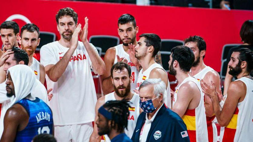 Triste despedida para una generación de oro: el baloncesto español cae en cuartos ante EEUU