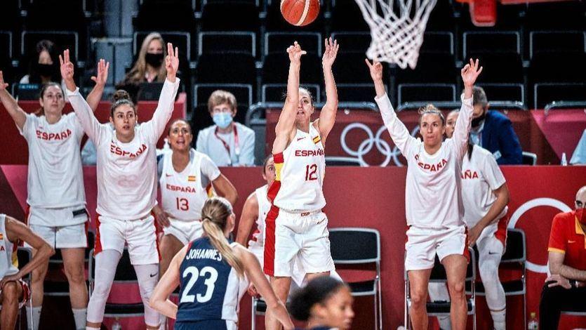 Las chicas del baloncesto español también se despiden de los Juegos en cuartos