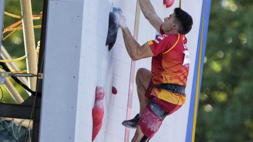 Alberto Ginés, de 18 años, ¡oro en escalada!: el medallero español está que arde