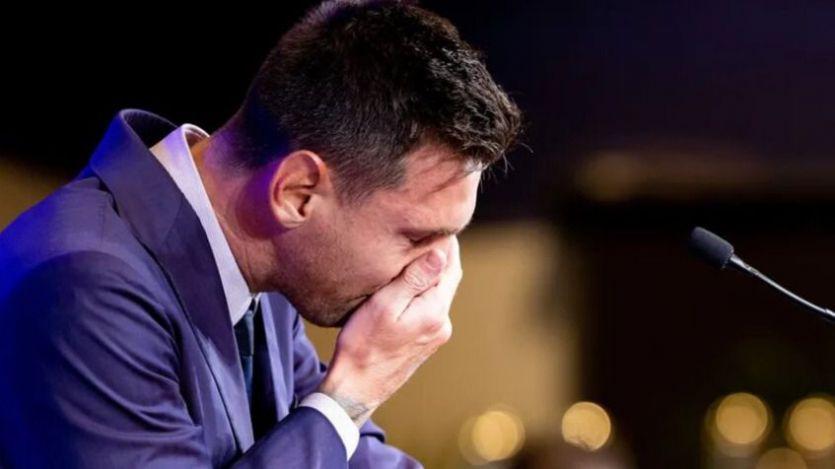 Messi, en su despedida
