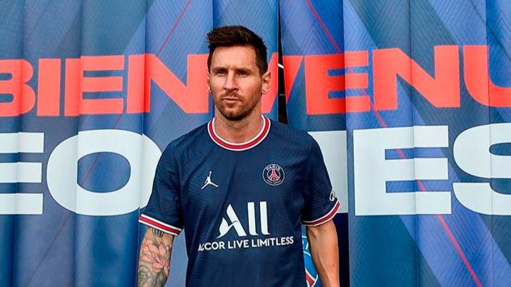Messi, en el PSG