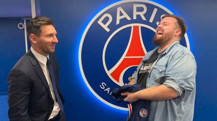 Ibai Llanos eclipsa a los medios deportivos y consigue la primera entrevista de Messi