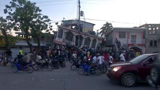 La desgracia se ceba con Haití: el nuevo terremoto deja más de 300 muertos y 2.000 heridos