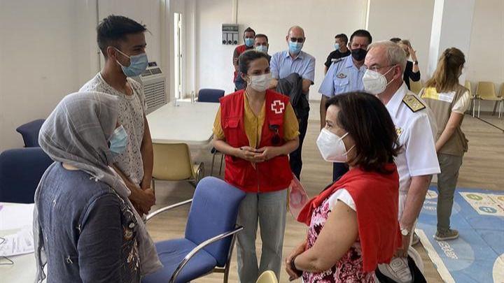 Margarita Robles sobre la situación en Kabul: 'Pedimos a la gente que grite España o que vayan con algo rojo'