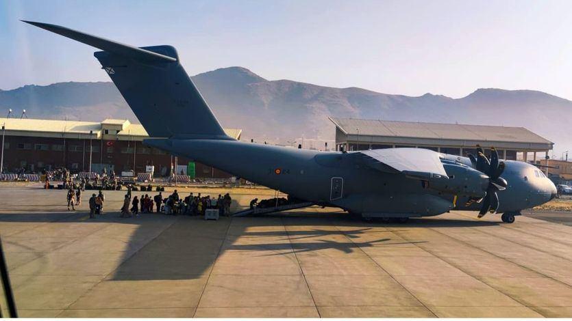 España se retira de Kabul y da por finalizado el dispositivo de evacuación