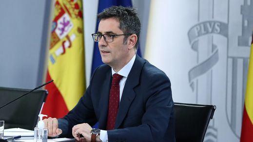 Bolaños rechaza de lleno la reforma que pide el PP para la renovación del Poder Judicial