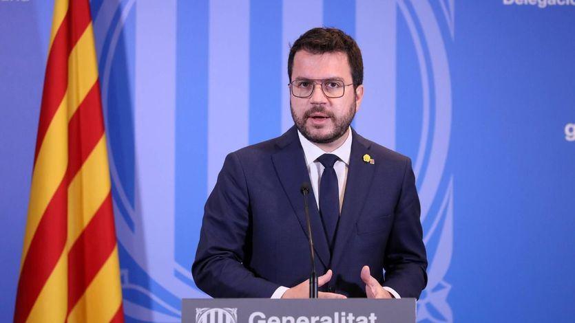 Aragonès califica como 'operación de chantaje' la decisión del Gobierno de suspender la ampliación del Prat