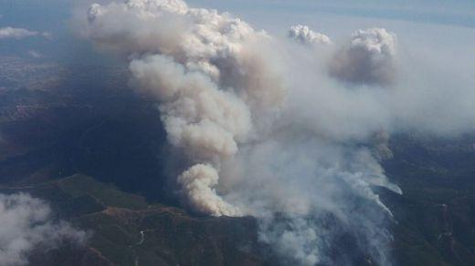 El incendio de Sierra Bermeja es el primero de sexta generación que se produce en España