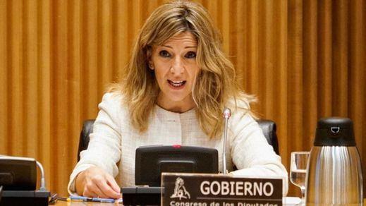 Yolanda Díaz asegura que la subida del salario mínimo está en manos del ala socialista del Gobierno