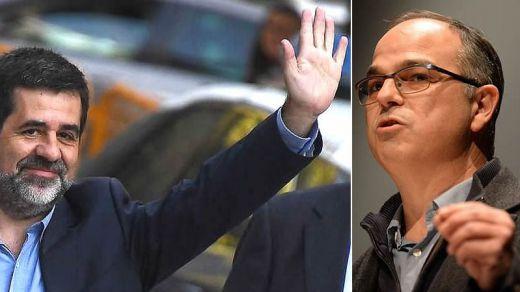 Los presos indultados Jordi Sànchez y Jordi Turull, designados por Junts para la mesa de diálogo de Cataluña