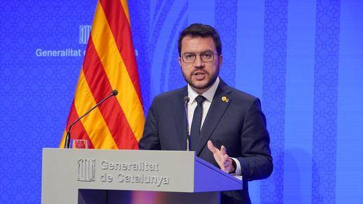 Aragonès dinamita la mesa de diálogo vetando a los indultados Jordi Sànchez y Turull
