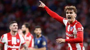 Griezmann en el Atlético