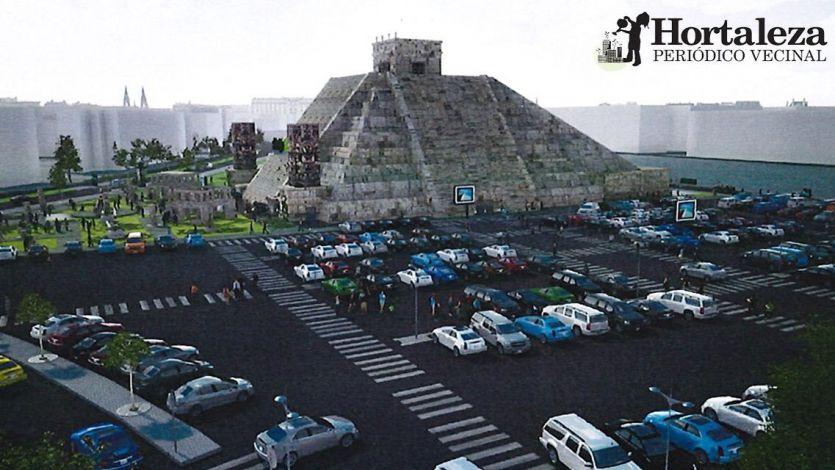 La pirámide de Nacho Cano en Hortaleza, Madrid