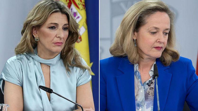 Yolanda Díaz se enfrenta tanto a la patronal como a su compañera Calviño por la subida del SMI