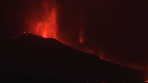 Unos 5.000 evacuados tras la erupción del volcán de La Palma