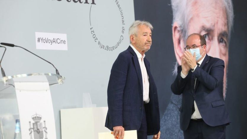 El aclamado discurso de José Sacristán al recoger el Premio Nacional de Cine